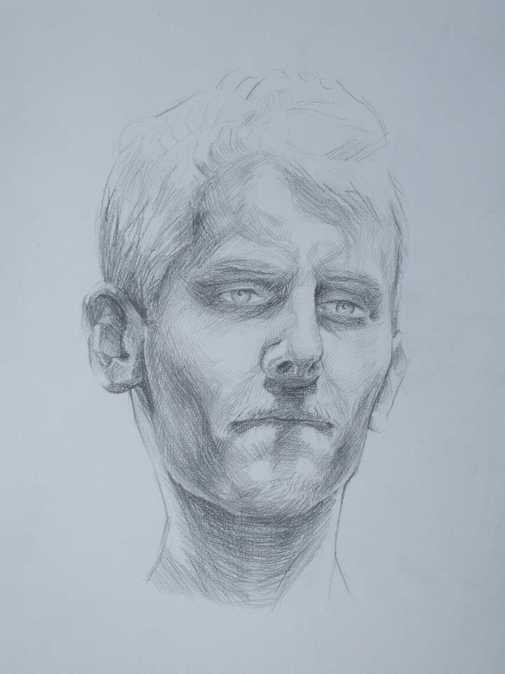 portrait d\'un homme