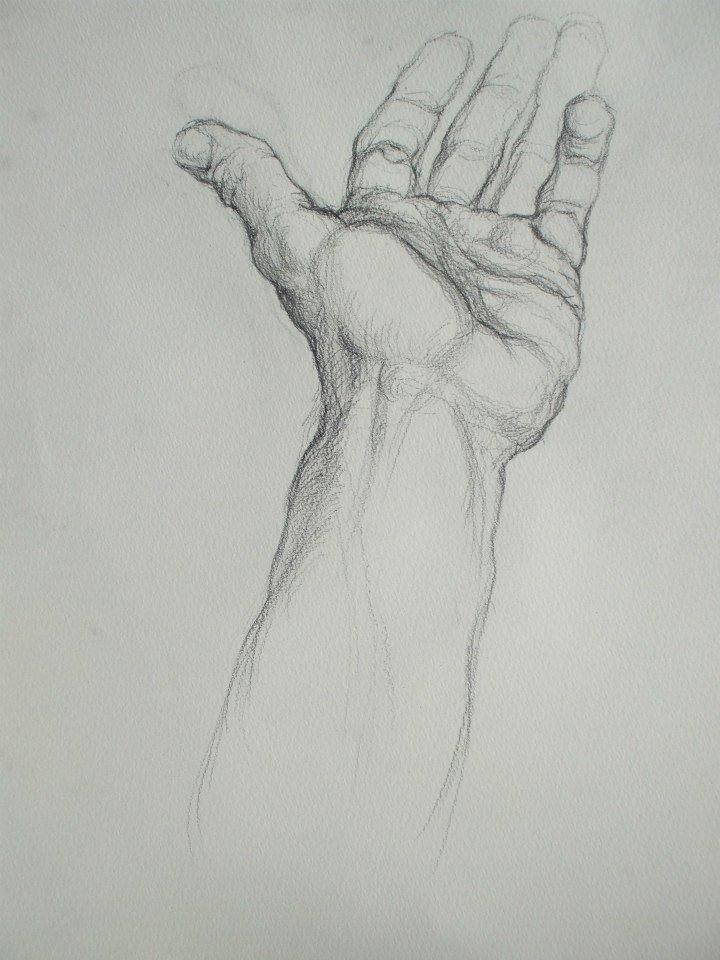 étude de ma main