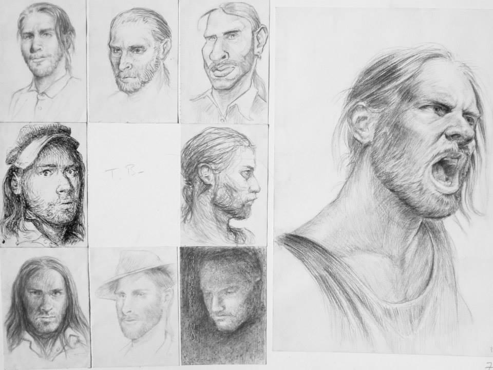 différents styles d\'autoportraits. Dans le style de ...
