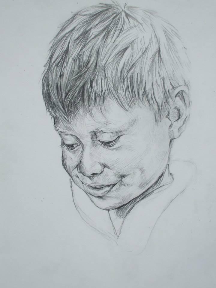 dessin d\'un petit garçon