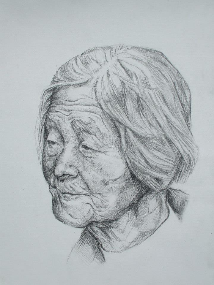 une vielle dame 1