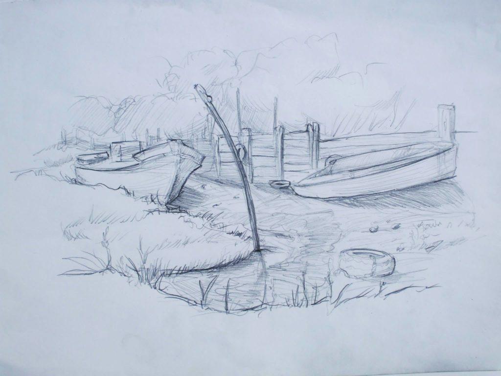 Marée basse à Arcachon