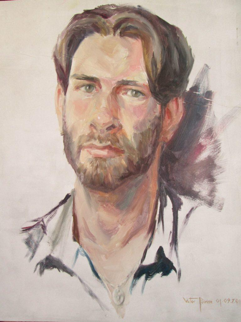 Autoportrait32,5x38,3cm