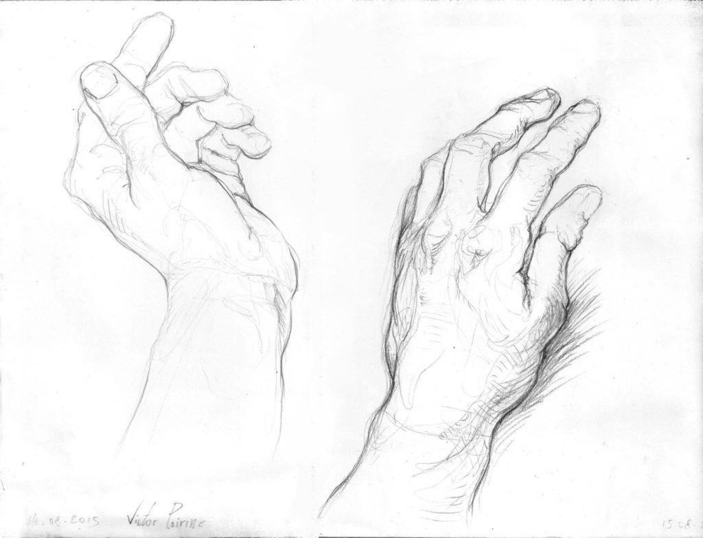 et ma main gauche à nouveau