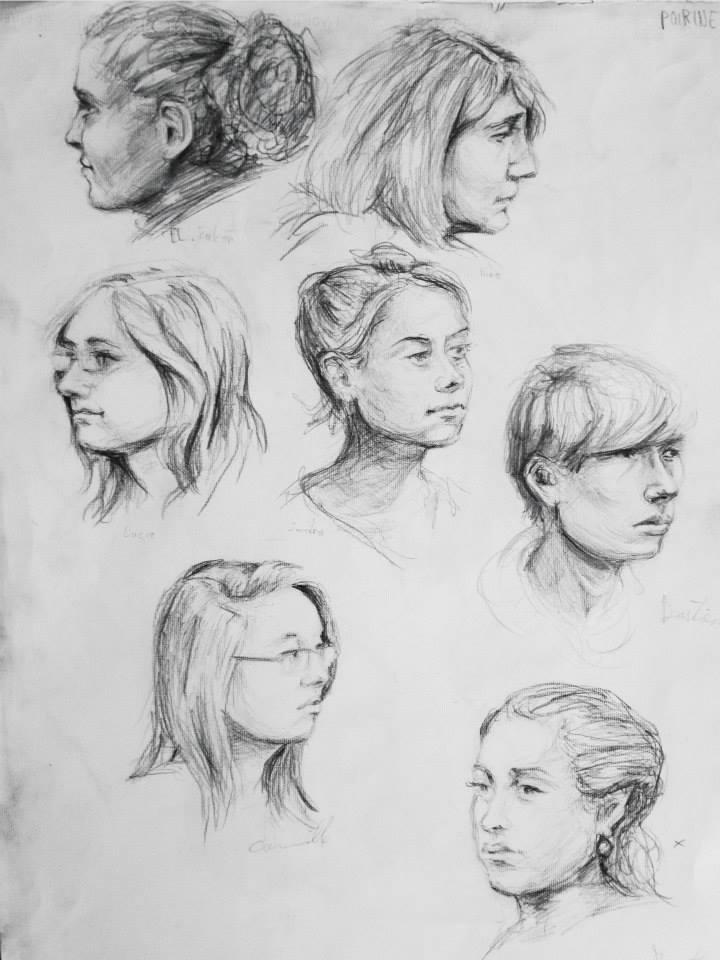 portraits d\\\'autres étudiants20 min pour un portrait
