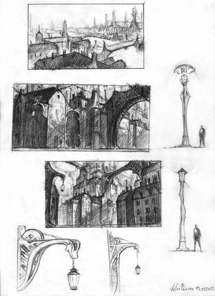 150euros - Recherches pour une Cité industrielle imaginaire. A4
