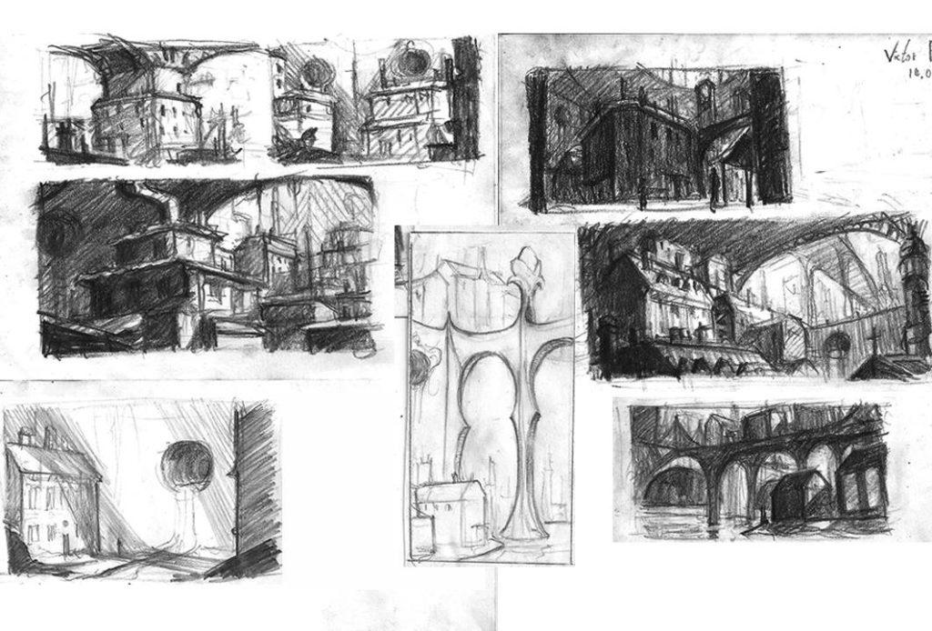 Recherches pour une Cité industrielle imaginaire