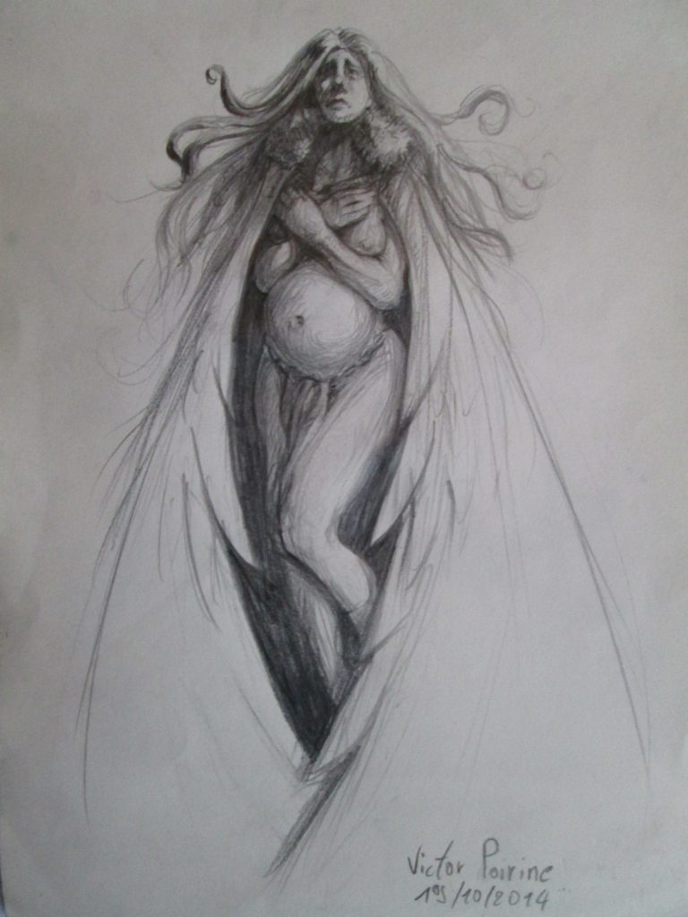 150euros - Mère au manteau