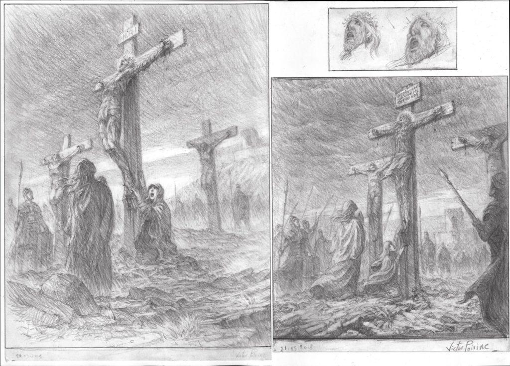 1400euros l\\\'ensemble sur A3 - Recherches autour de la crucifixion de Jésus Christ