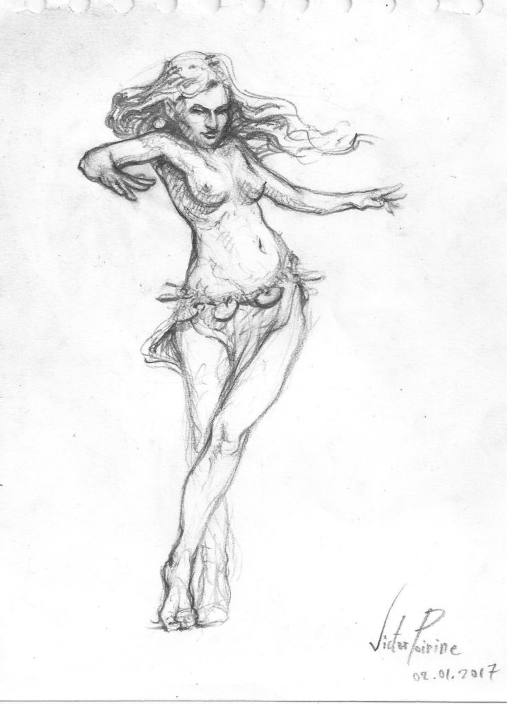 90euros - Salomé danse. Demi A4