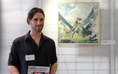 """Prix """"Jeunes Talents"""" au Salon Arbuste de Mantes-la-Jolie."""