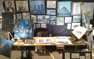 Exposition au Balthaz'Art à Lunéville en Lorraine.