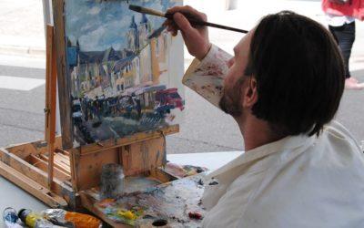 Peinture à la potée portoise de Saint-Nicolas de Port.