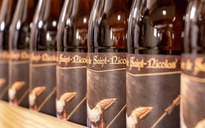 Une étiquette de bière édition limitée pour la Saint-Nicolas !