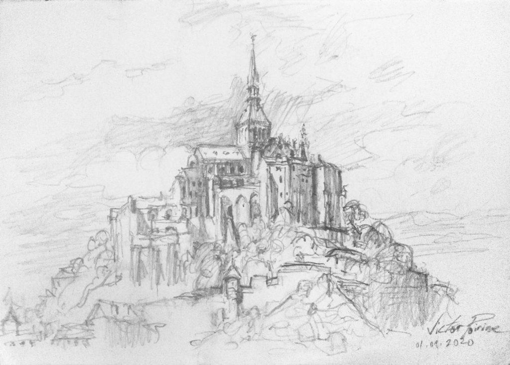 Mont Saint Michel. introuvable